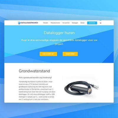 dataloggerhuren webdesign
