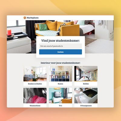 marktplaats webdesign