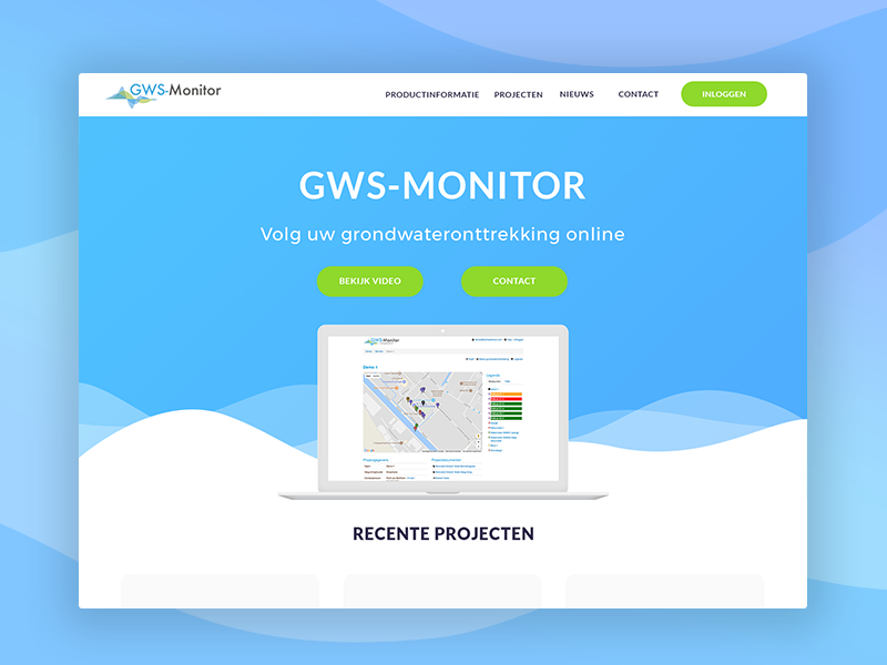 Webdesign gws-monitor.nl